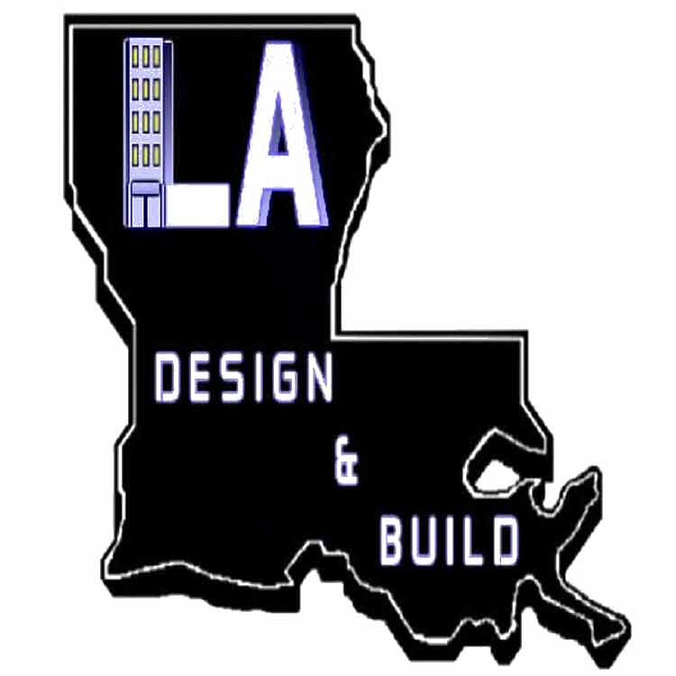 LA Design and Build logo